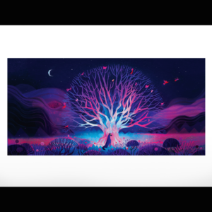 L'arbre et le loup par Juliette Oberndorfer