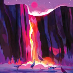 La Cascade Rouge par Juliette Oberndorfer