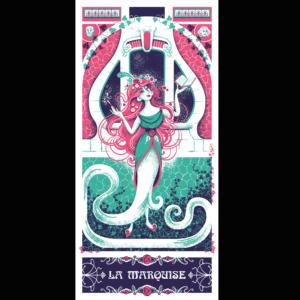 La Marquise par Laure Fatus du Collectif Paon !