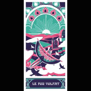 Le Fou Volant par Elodie Boureille du Collectif Paon !