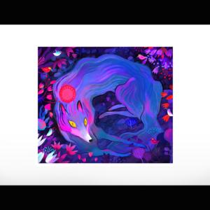 Le Loup Bleu par Juliette Oberndorfer