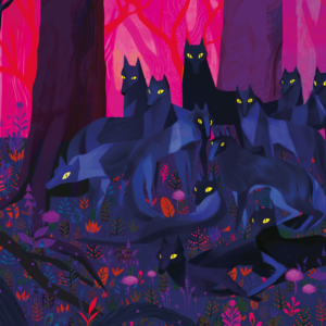La Meute de loups par Juliette Oberndorfer