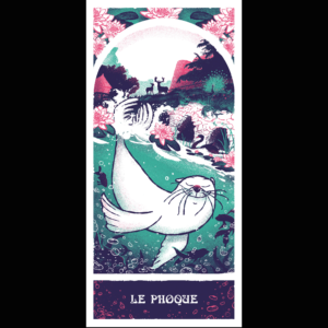 Le Phoque par Rémy Nardoux du Collectif Paon !