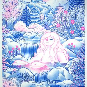 Rif Paulin de Marie Blue – risographie Vertes d'Orage