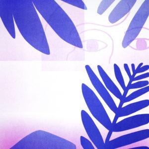 Forêt Sauvage de Audrey Potrat – risographie Vertes d'Orage